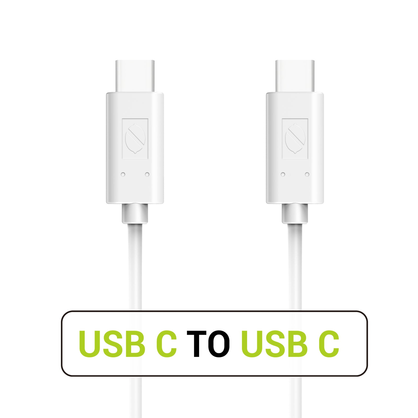 USB C to USB C 2.0 Cable 3.3ft/1m - White (1 Pack) [Shipping to US Only]