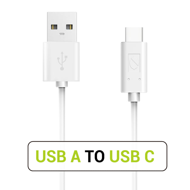 USB C to USB A 2.0 Cable 3.3ft/1m - White (1 Pack) [Shipping to US Only]