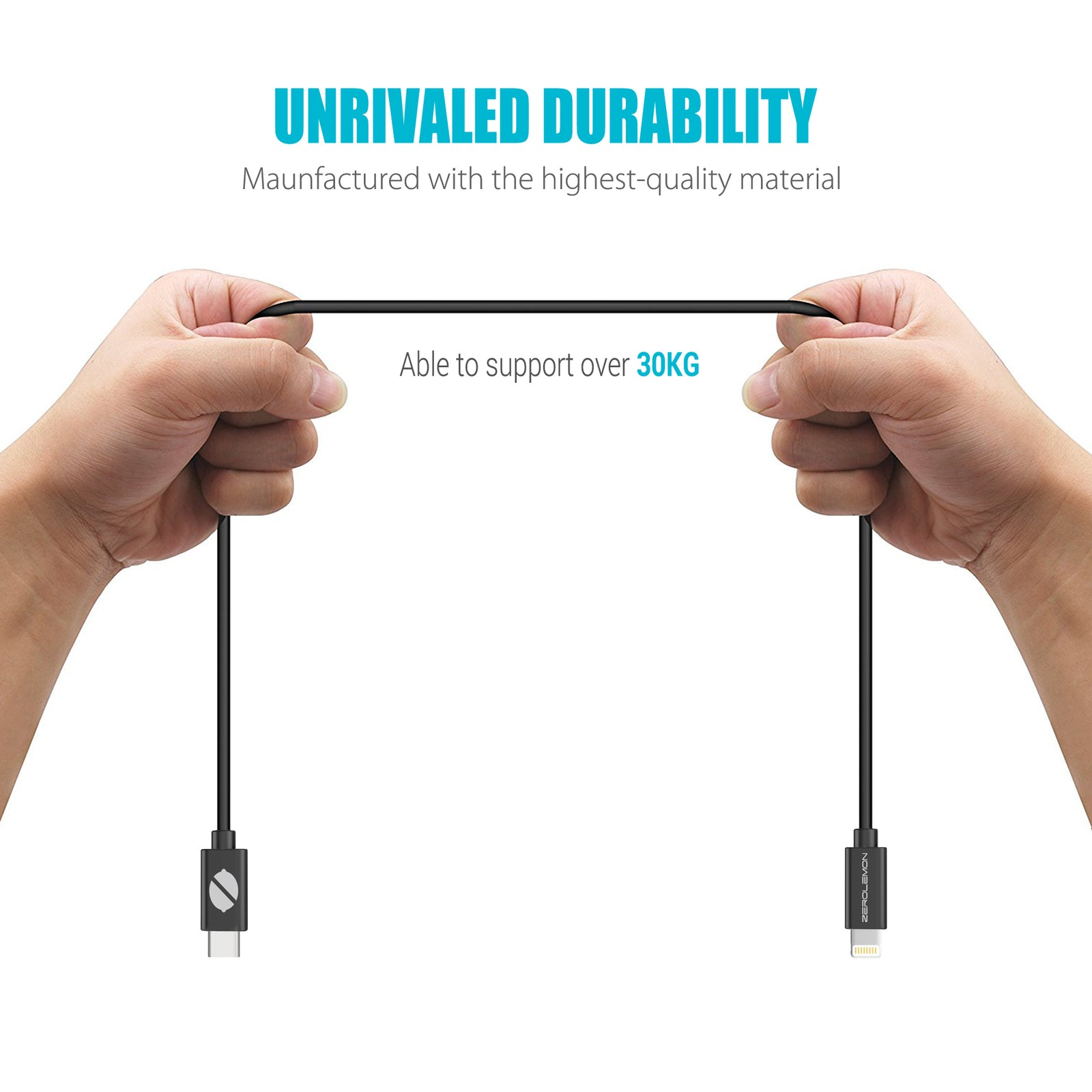USB-C PD to Lightning Cable [Apple Mfi Certified] - 1Pack [Shipping to US Only]