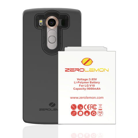 Moto Z Battery Case 7500mAh - Black