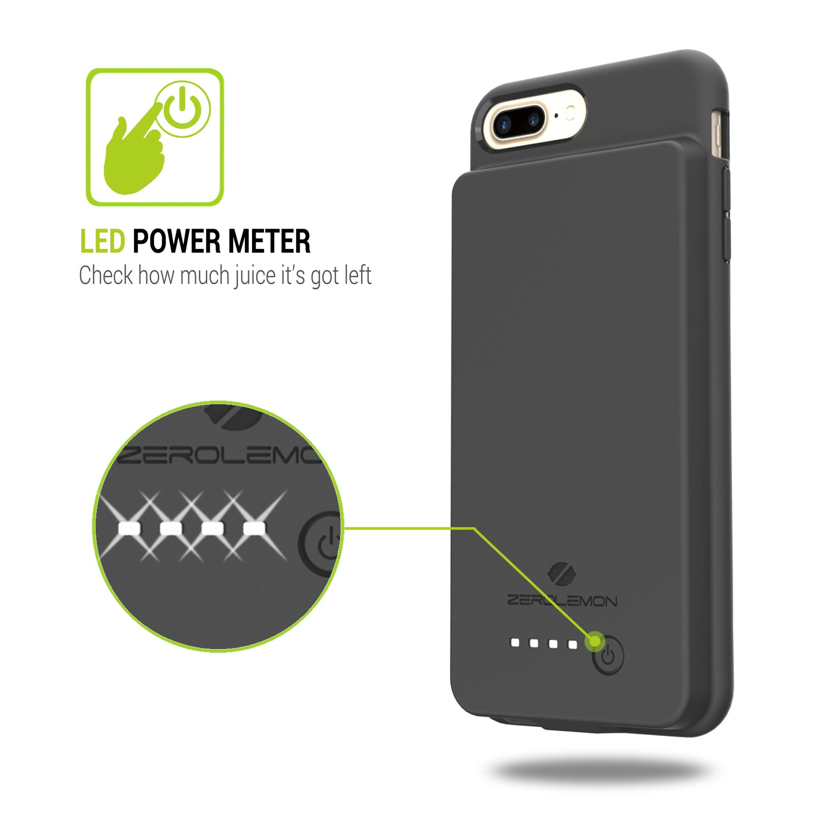 iPhone 7 Plus Battery Case 10000mAh