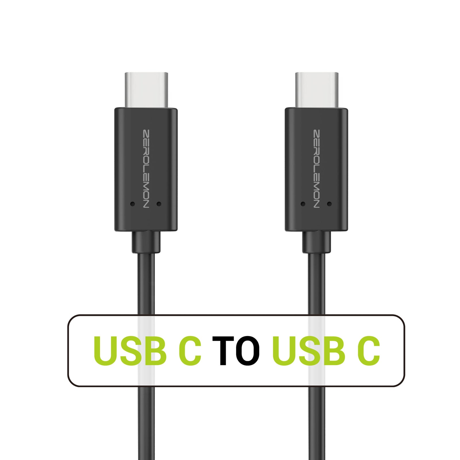 USB 3.1 USB C to USB C 10 Gbps Super Speed Charge and Sync Cable 3.2FT [Shipping to US Only]