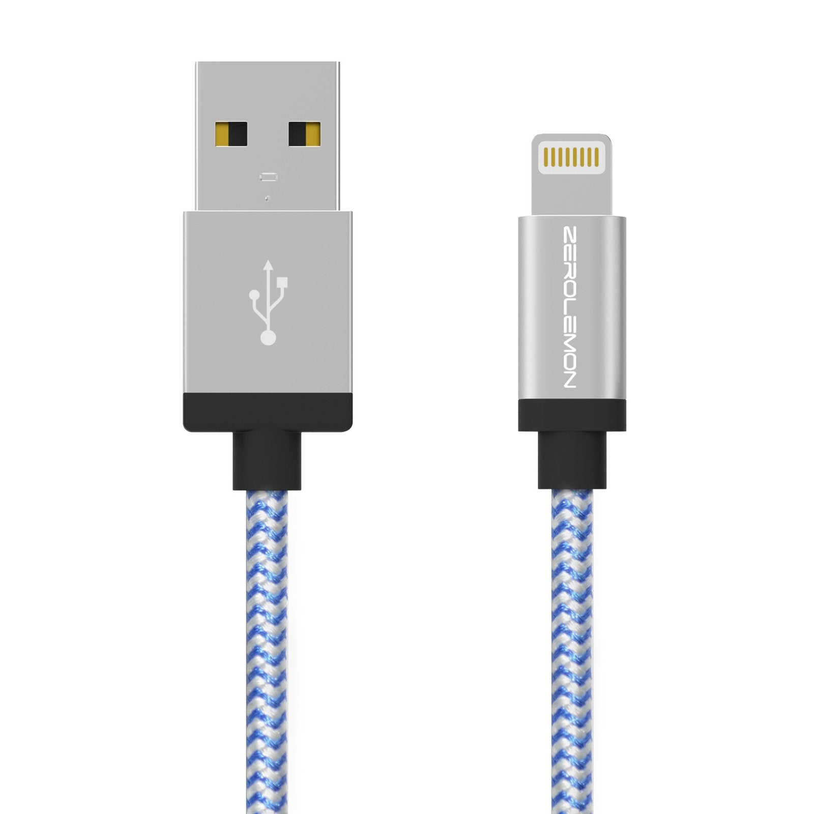 Lightning Cable 10ft/3m - Rugged Nylon Various Colors