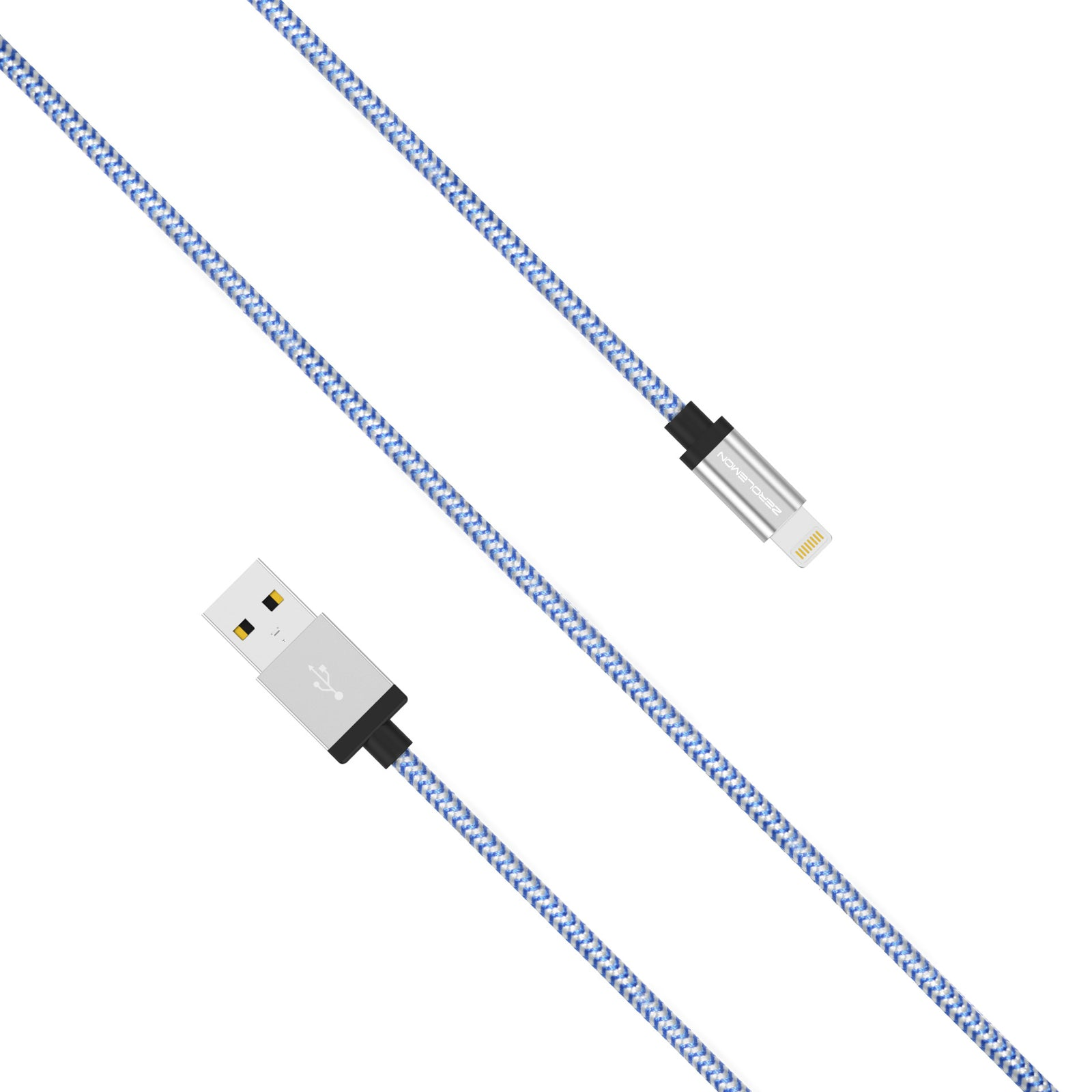 Lightning Cable 16.5ft/5m - Rugged Nylon Various Colors
