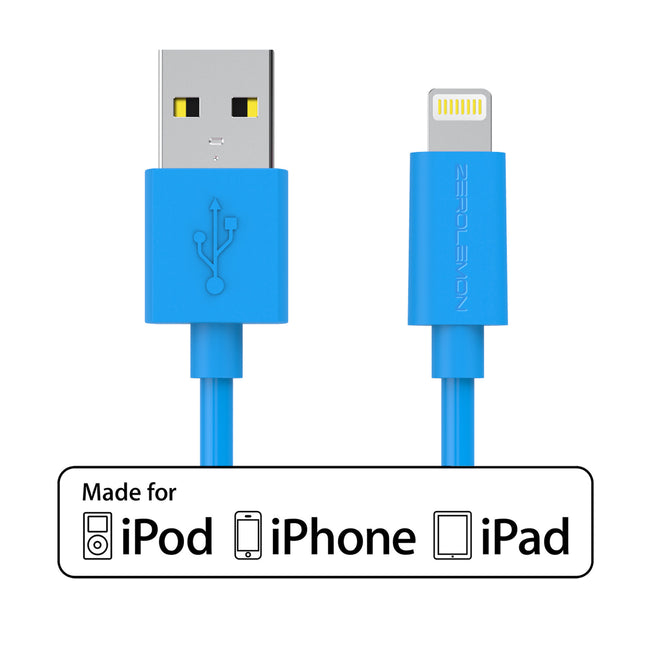 Lightning Cable 6.4ft/2m - PVC Various Colors