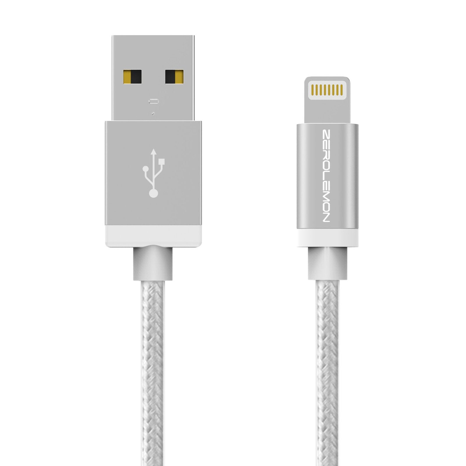 Lightning Cable 6.4ft/2m - Rugged Nylon Various Color