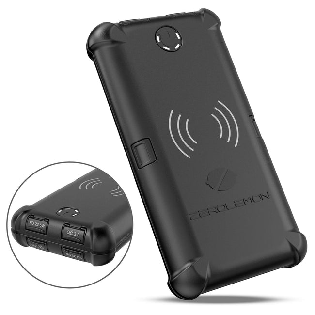 [Upgraded] ToughJuice 30000mAh 22.5W USB C PD Wireless External Battery Charger [Shipping to US Only]