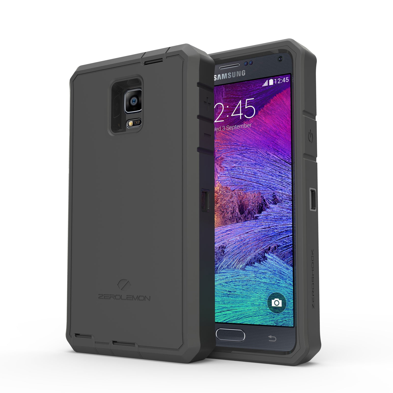 ZeroShock Case for Note 4 10000mAh Extended Battery(Battery is not included)
