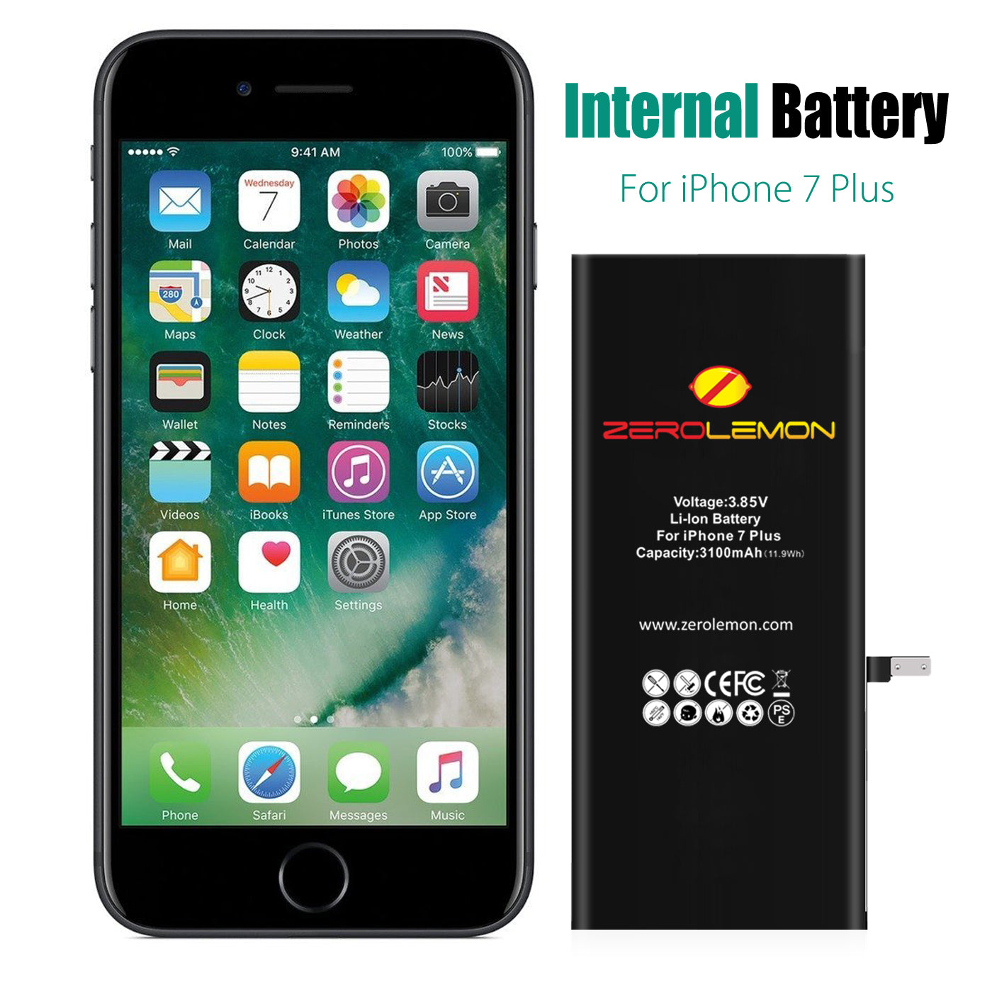 iPhone 7 Plus Internal Li-ion battery 3100mAh  [Shipping to US Only]