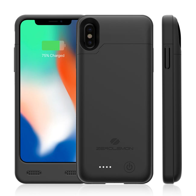 iPhone X 4000mAh Battery Case with Qi Wireless Charging Supported