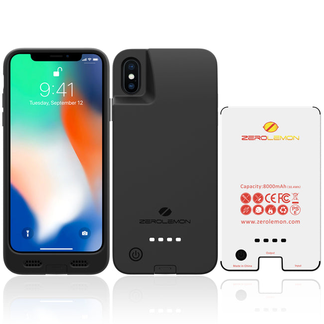 iPhone X / XS Battery Case 8000mAh [Shipping to Australia Only]