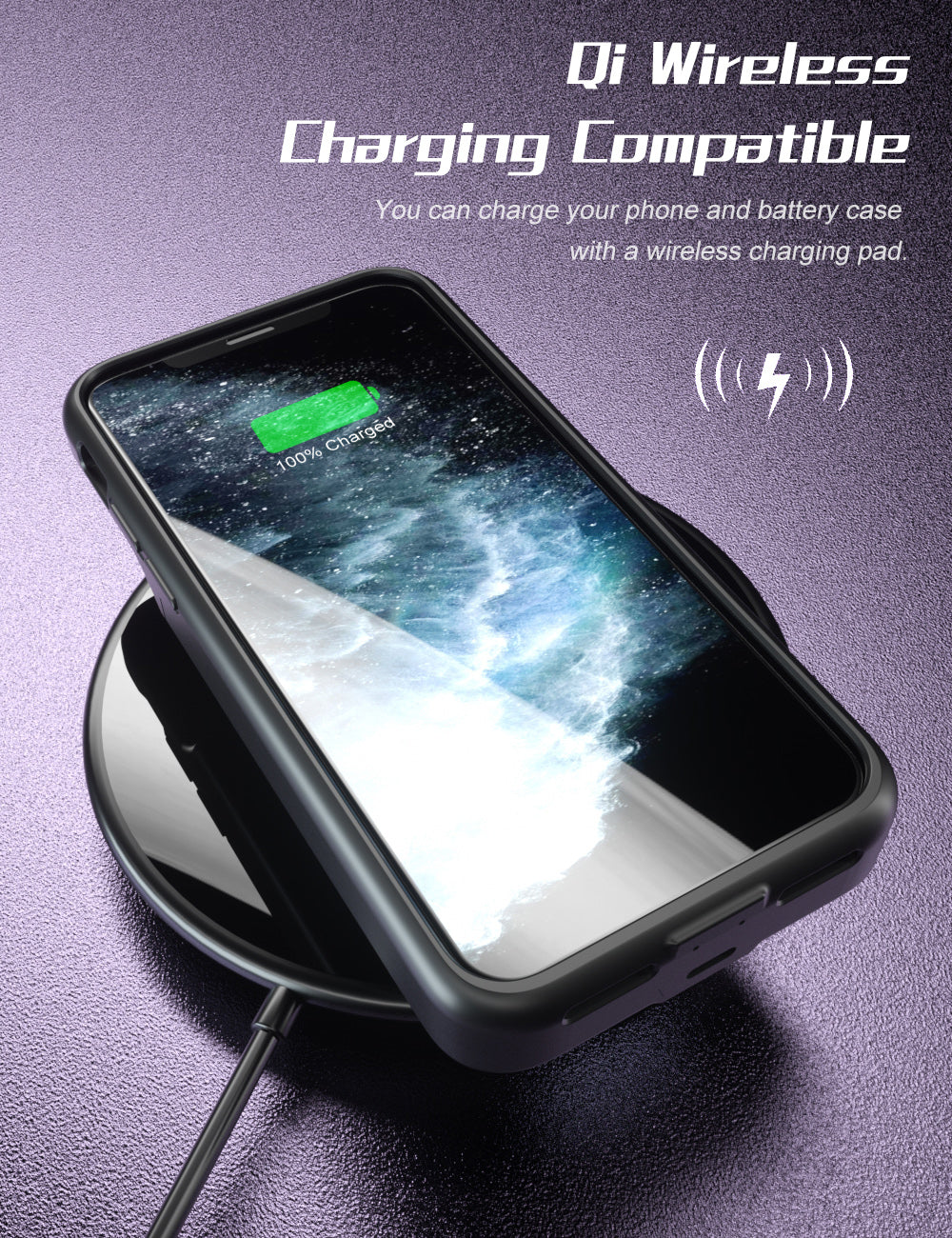 SlimJuicer iPhone 11 Pro 4000mAh Wireless Charging Battery Case