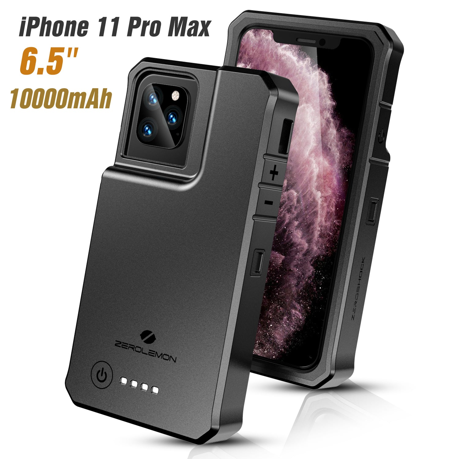 iPhone 11 Pro Max RuggedJuicer Battery Case 10000mAh