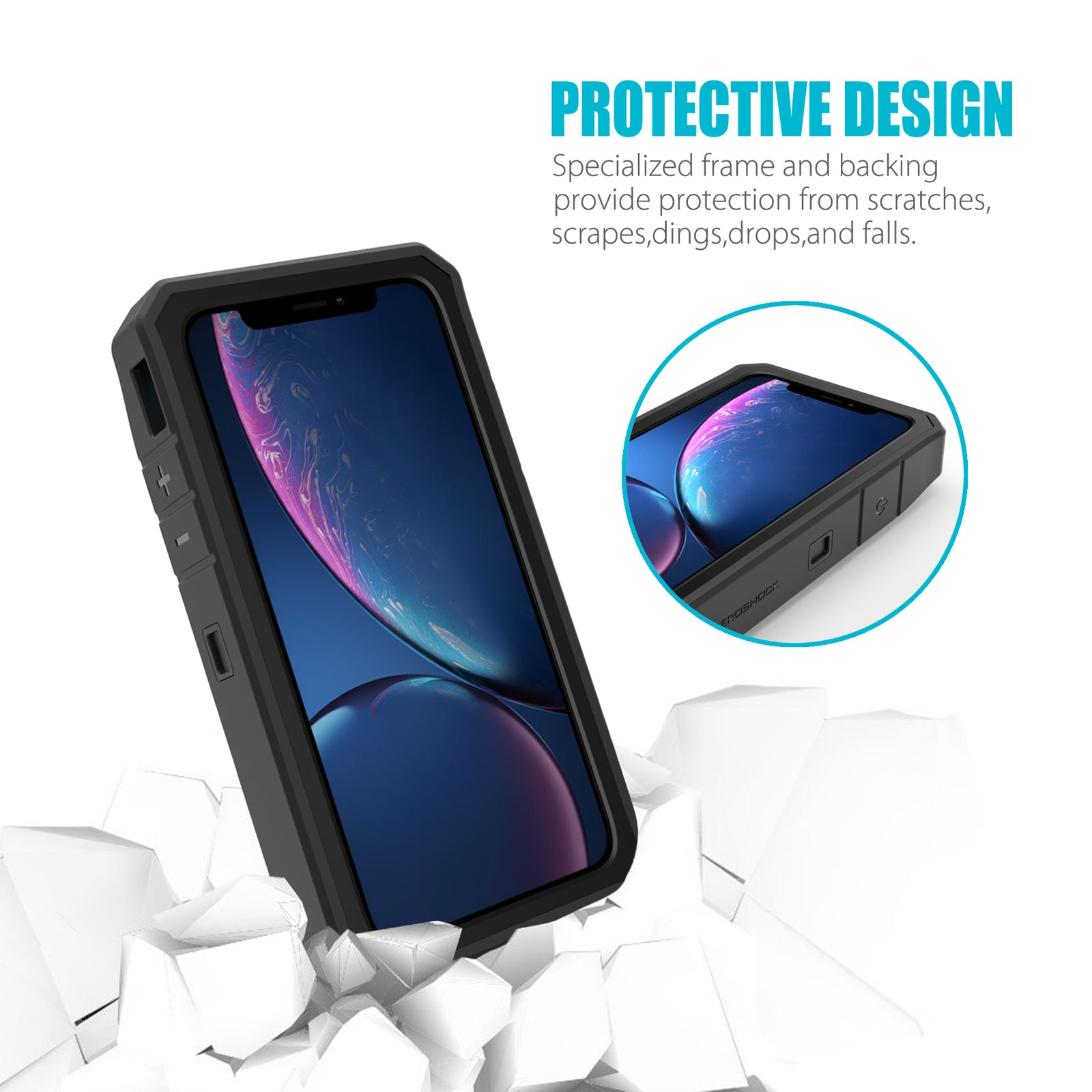 iPhone XR 6.1'' Battery Case 8000mAh