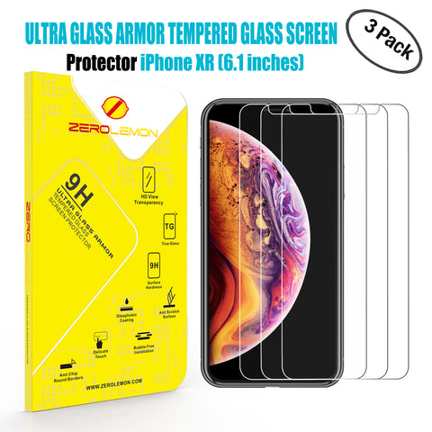 iPhone Xs Max Screen Protector - 2 Pack [Shipping to US Only]