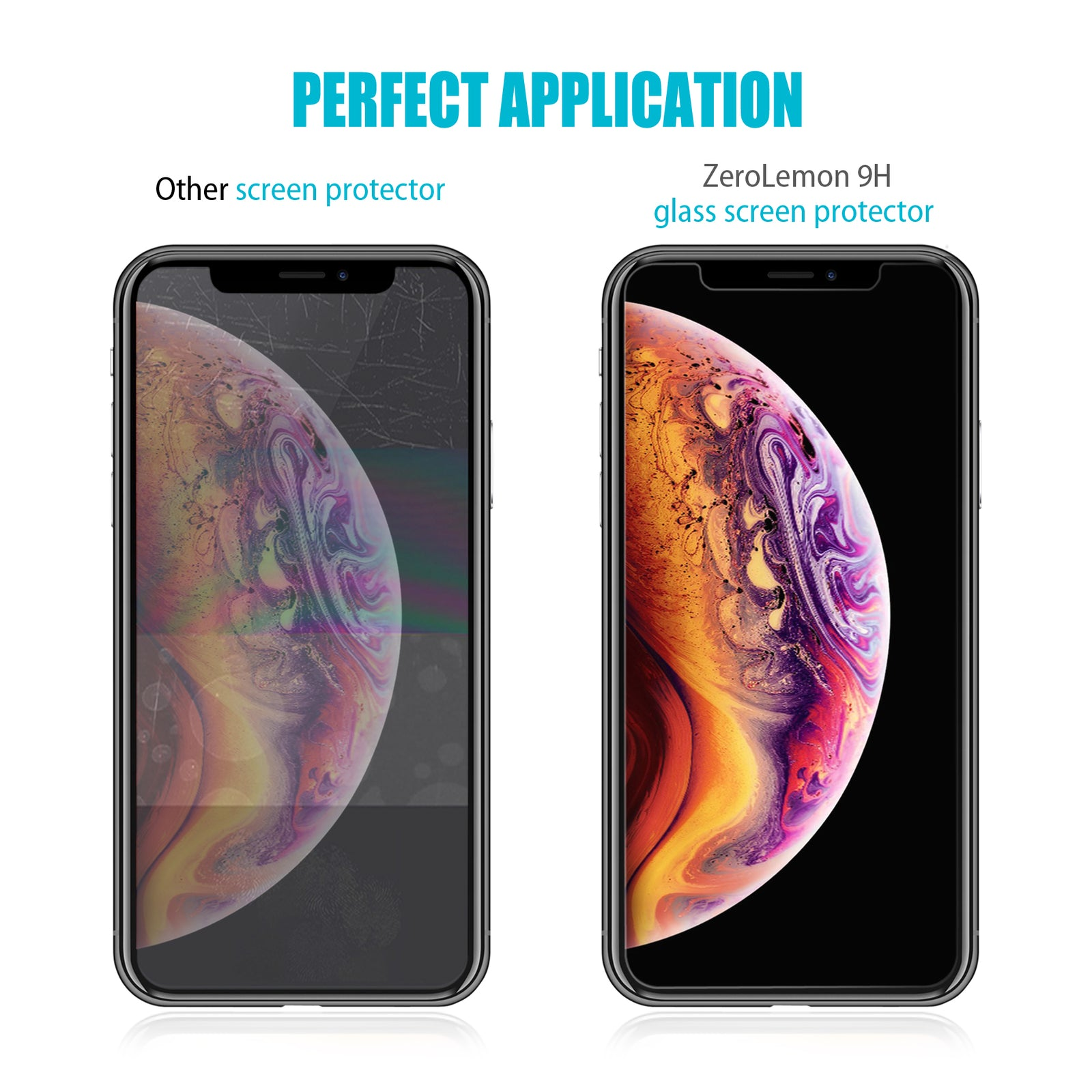 iPhone XR Screen Protector - 3 Pack