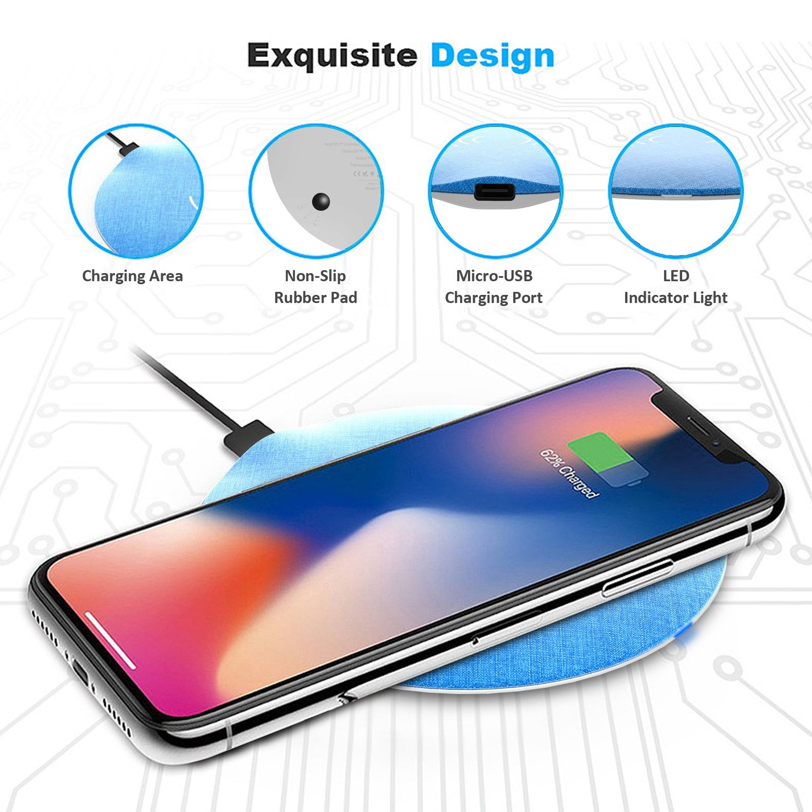 15W Wireless Charging Pad