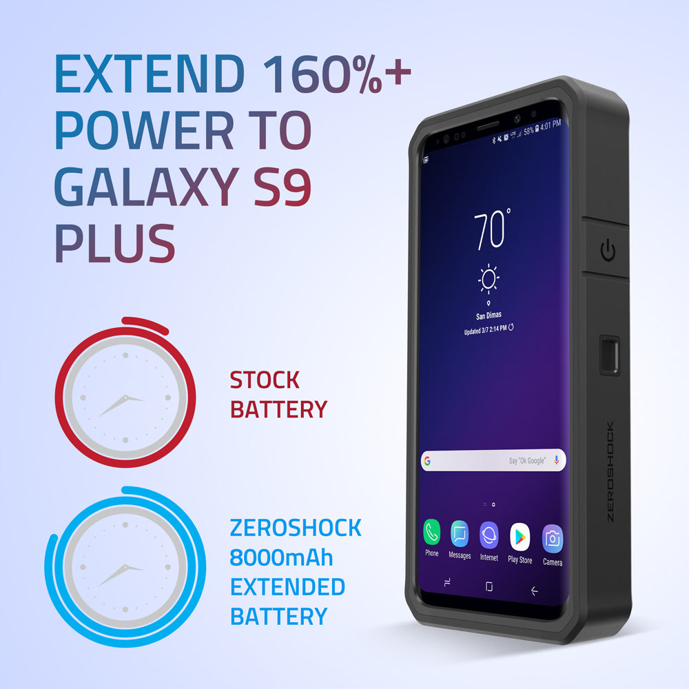 samsung galaxy s9 plus battery case 8000mah. Black Bedroom Furniture Sets. Home Design Ideas