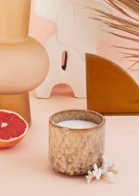 Load image into Gallery viewer, Grapefruit & Mango Scented Ceramic Candle