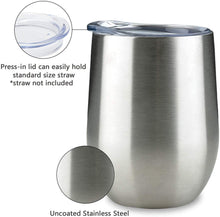 Load image into Gallery viewer, Stainless Steel Thermal Reusable 12oz Coffee Cup