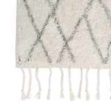 tufted cotton non-slip bath mat small rug