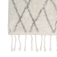 large berber tufted cotton non-slip mat rug