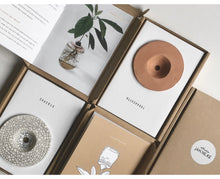 Load image into Gallery viewer, Handmade Ceramic DIY Avocado Plant Growing Kit