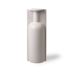 Putty Colour Mold Trompe L'Oeil Tall Vase