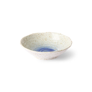 Glazed Shallow Side Bowl