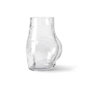 Glass Bottom Sculptural Vase