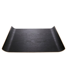 Load image into Gallery viewer, Willow Wooden Black Tray