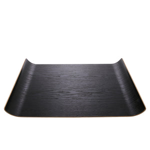 Willow Wooden Black Tray