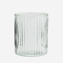 Load image into Gallery viewer, Drinking glass w/ grooves