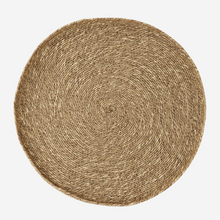 Load image into Gallery viewer, Large Round Seagrass Tray