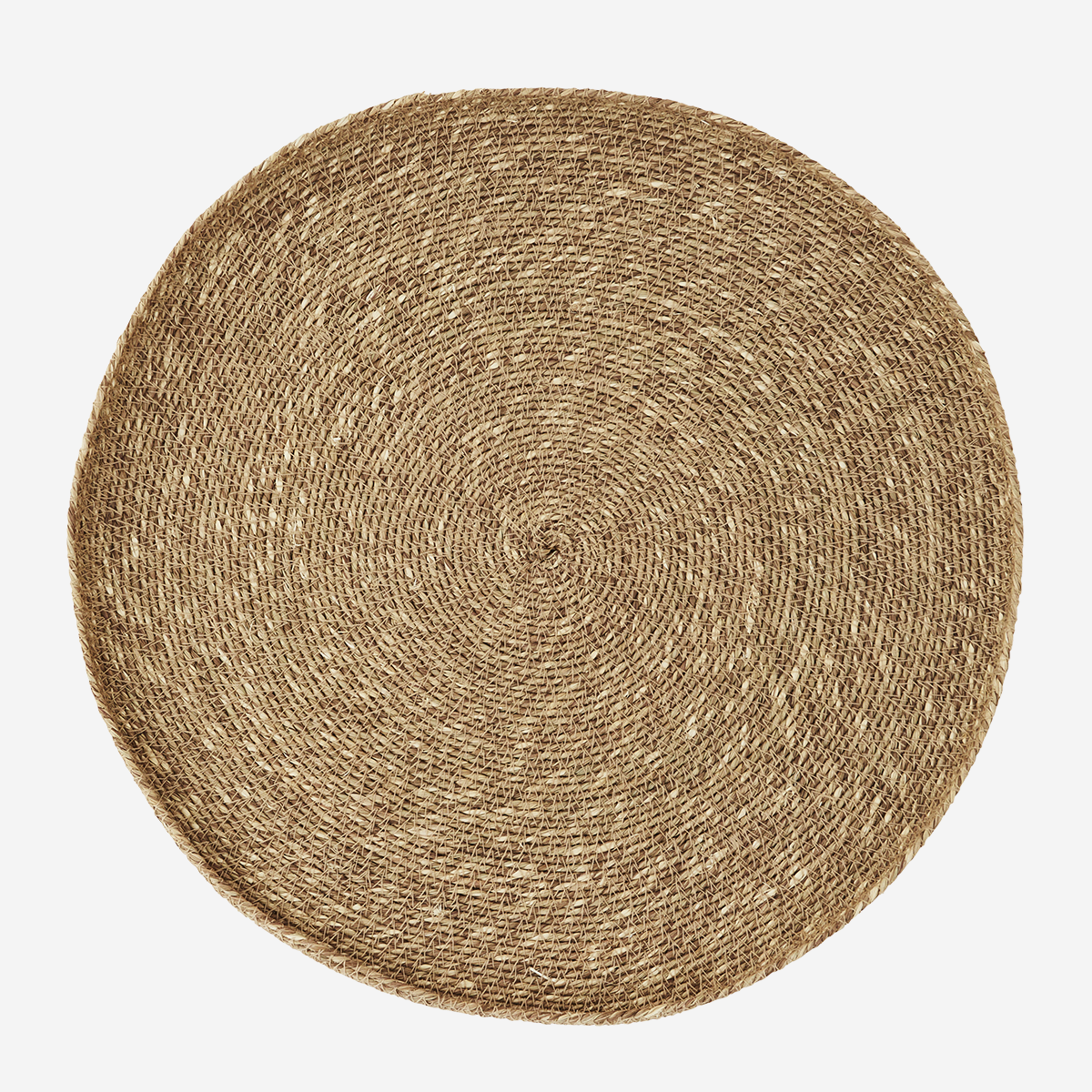 Large Round Seagrass Tray