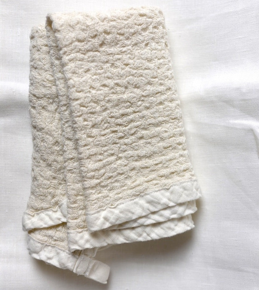 Pure Linen Flax Hand Towel