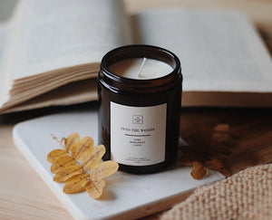 Pine, Bergamot & Clove Scented Candle
