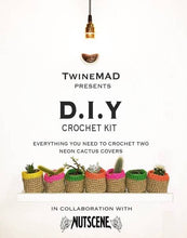 Load image into Gallery viewer, DIY Jute Twine Pot Making Crochet Kit