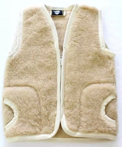 Children's Merino Wool Bodywarmer Gilet