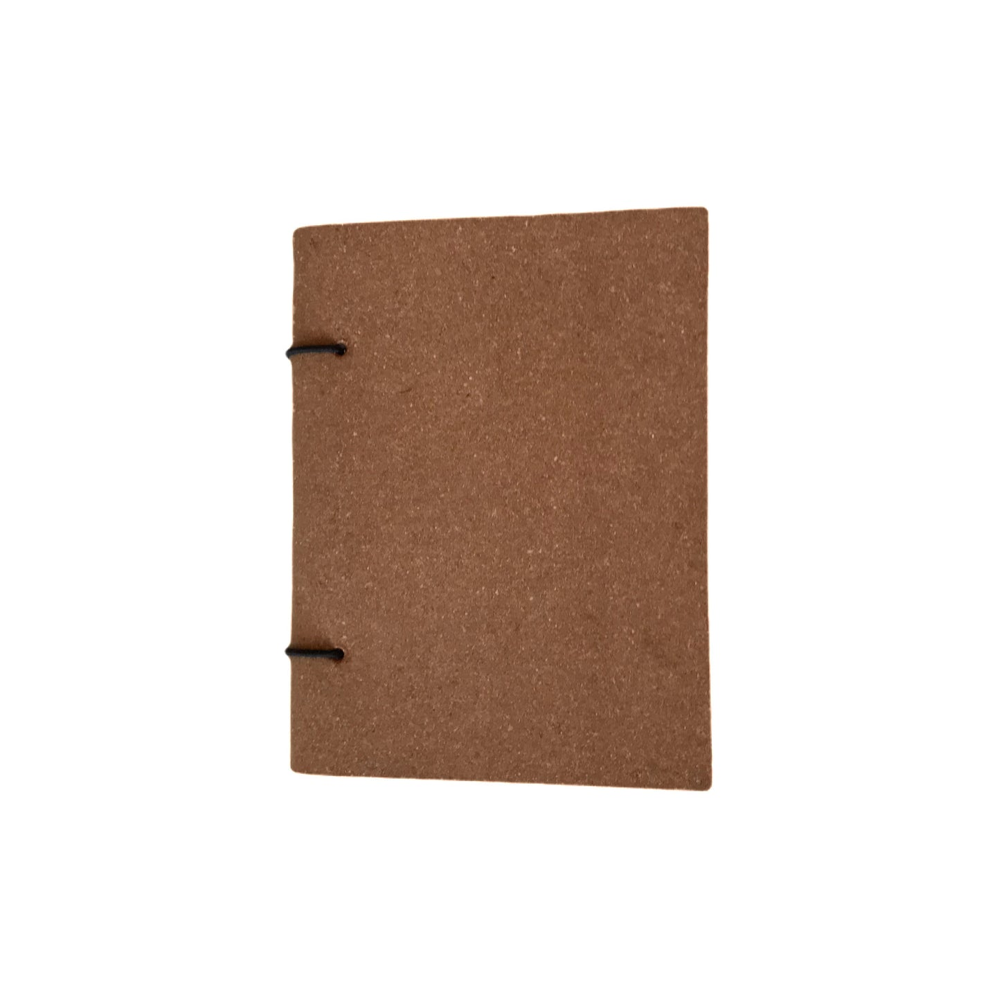 A6 Recycled Leather Bound Paper Notebook