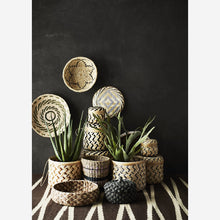 Load image into Gallery viewer, Brown Woven Jute & Cotton Rug