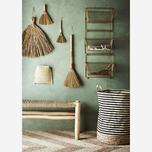 Load image into Gallery viewer, Mini Straw & Rattan Table Broom
