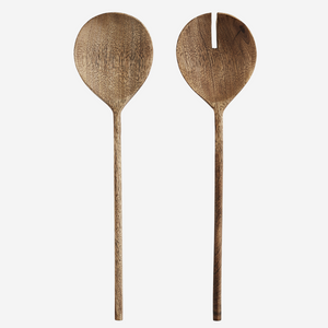 Pair of Wooden Salad Servers