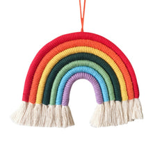 Load image into Gallery viewer, Handwoven Rainbow Wall Hanging
