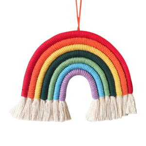 Handwoven Rainbow Wall Hanging