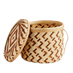 Load image into Gallery viewer, Trio of Woven Storage Baskets with Lids