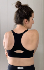 7afa81ec434cf Oiselle Lesko Bra - compressive fabric and simple design make this one of  my go-to s. While this is pricier