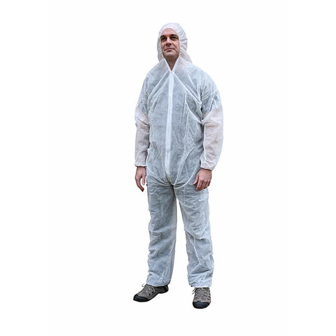 Lightweight Disposable Coverall from Floorsaver