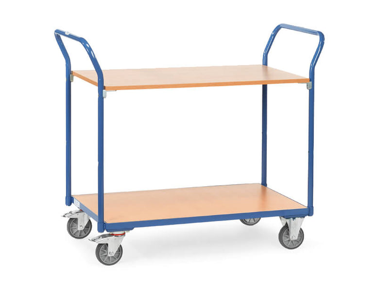 2 Handle Table Top Trolley