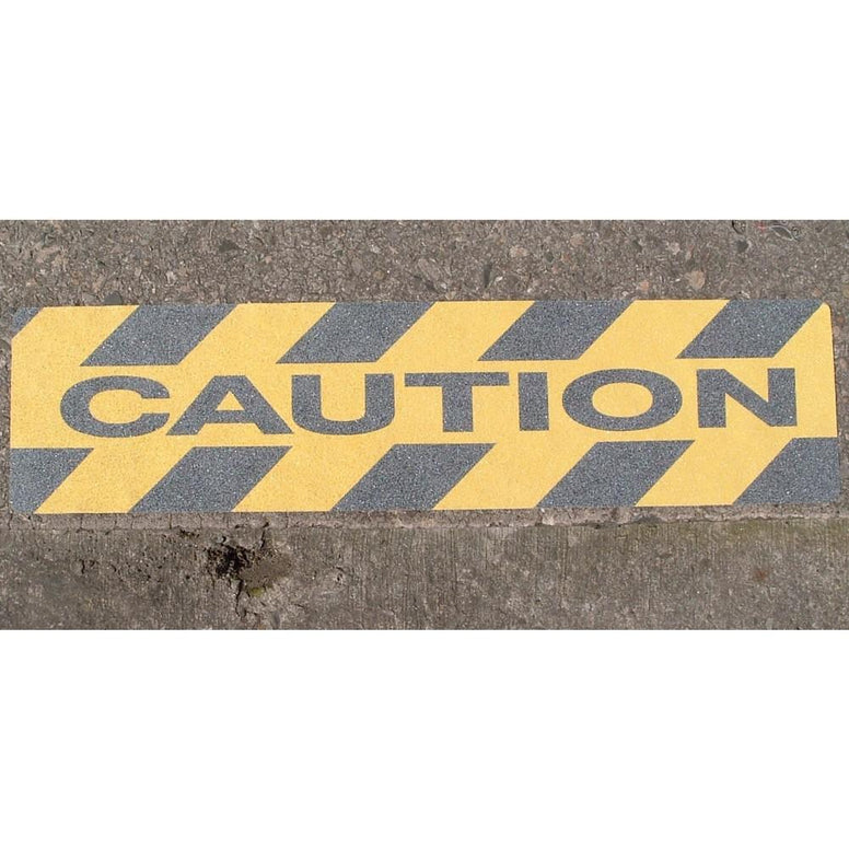 Caution' Printed Safety Grip Anti Slip Cleat from Floorsaver